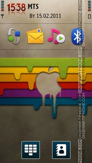 Apple Mac 06 theme screenshot