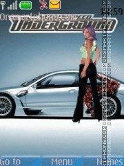 Need For Speed 13 es el tema de pantalla