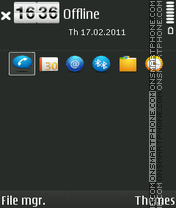 GWB theme screenshot