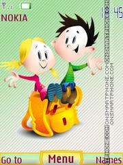 School children theme screenshot