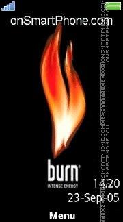 Burn 04 es el tema de pantalla