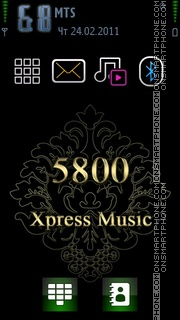 5800 Xpress theme screenshot
