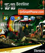 Ballons 240 yi theme screenshot