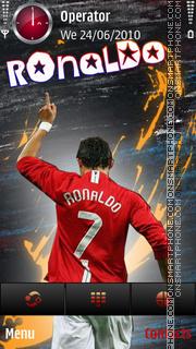 Ronaldo mu 7 by di_stef tema screenshot
