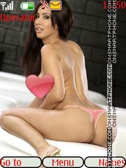 Sexy model72 theme screenshot