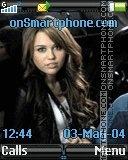 Miley Cyrus 6 es el tema de pantalla