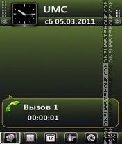Green by Bolena es el tema de pantalla