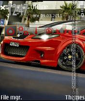 Seat-Ibiza theme screenshot