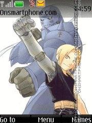 Full Metal Alchemist (like in manga) theme screenshot