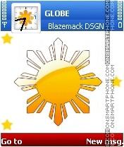 Bandila ng Pilipinas es el tema de pantalla