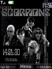 Scorpions 01 es el tema de pantalla