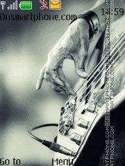 Music Bass Tone es el tema de pantalla