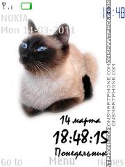 Siam Cats theme screenshot