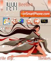 Samuray theme screenshot