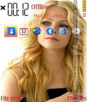 Avril lavigne 11 es el tema de pantalla