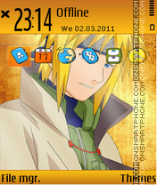 Naruto 2013 theme screenshot