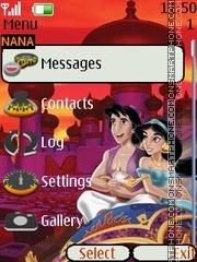 Alaaddin Clock2 theme screenshot