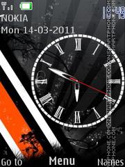 O.B.W.Clock es el tema de pantalla