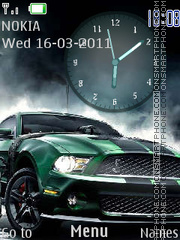 F.M. Clock es el tema de pantalla