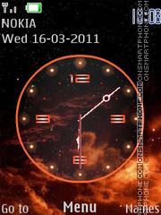 O.R. Clock es el tema de pantalla