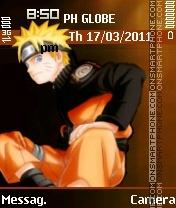 Uzumaki Naruto es el tema de pantalla