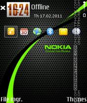 Nokia Green 03 es el tema de pantalla
