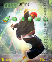 Hip Hop Style 01 theme screenshot