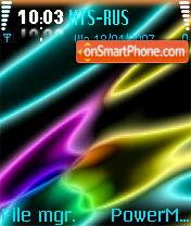 NEON 2 theme screenshot