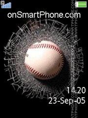 Baseball Crash es el tema de pantalla