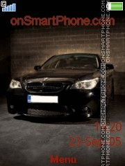 Bmw M5 13 theme screenshot