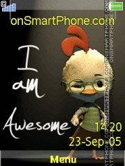 Awesome 01 es el tema de pantalla