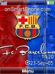 Barcelona Champion es el tema de pantalla
