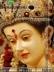Durga Maa theme screenshot