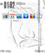 Iphone Eye theme screenshot