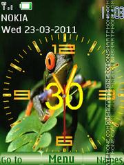 Frogling tema screenshot