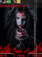 Vampir By ROMB39 es el tema de pantalla