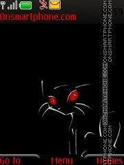 Cat By ROMB39 es el tema de pantalla