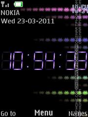 P.P.G. Clock es el tema de pantalla