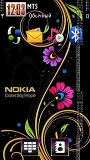 Nokia 7242 es el tema de pantalla