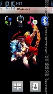 Street Fighter 04 theme screenshot