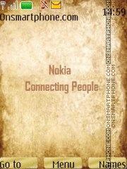 Capture d'écran New Nokia Style Menu 2011 thème