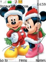 Mickey X-mas theme screenshot