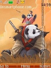 Kung Fu Panda 08 theme screenshot