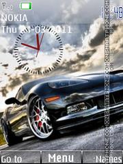 Chevrolet Corvette 01 theme screenshot