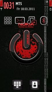 Nokia Xpress Music 11 es el tema de pantalla