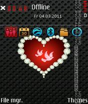 Be my valentine 03 es el tema de pantalla