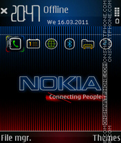 Inokia fp1 theme screenshot
