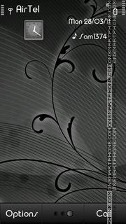 Abstract Grey theme screenshot