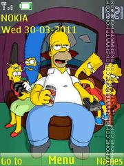 The Simpsons 11 theme screenshot