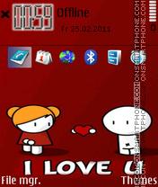 I Love You 36 es el tema de pantalla